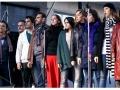 Elenco de Sweeney Todd en los Premios Hugo en la calle corrientes . Fotografia: Ayco